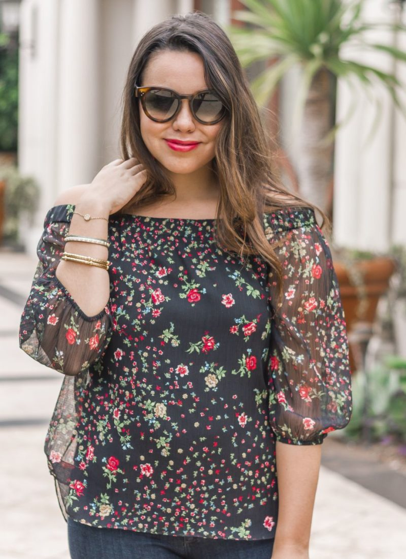 How to Wear Floral Prints in the Fall
