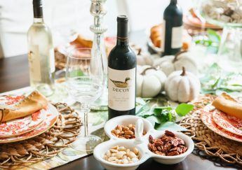 Our Thanksgiving Tablescape with Decoy Wines