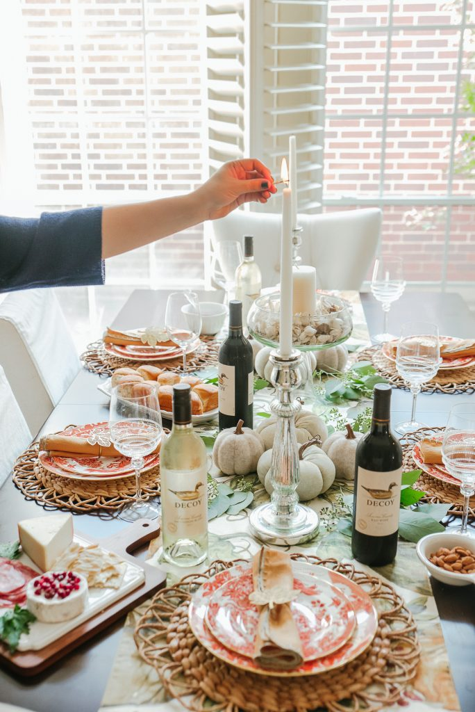 Dining Room Table Decor for Thanksgiving