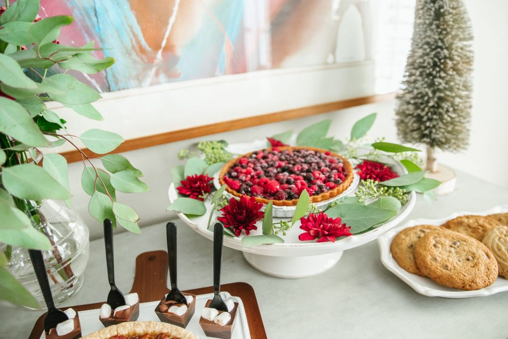 Holiday dessert table made easy