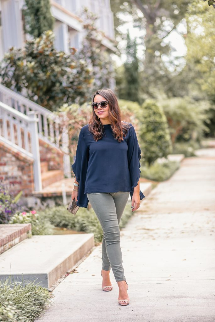 Fall to winter transition outfit ideas