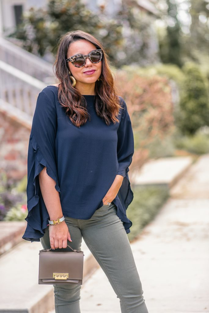 Classic navy top for any wardrobe