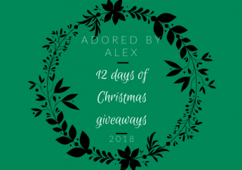 12 days Christmas Giveaways | Adored by Alex