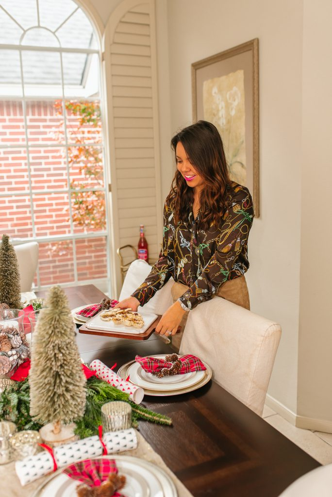 Christmas at home, holiday hostess ideas