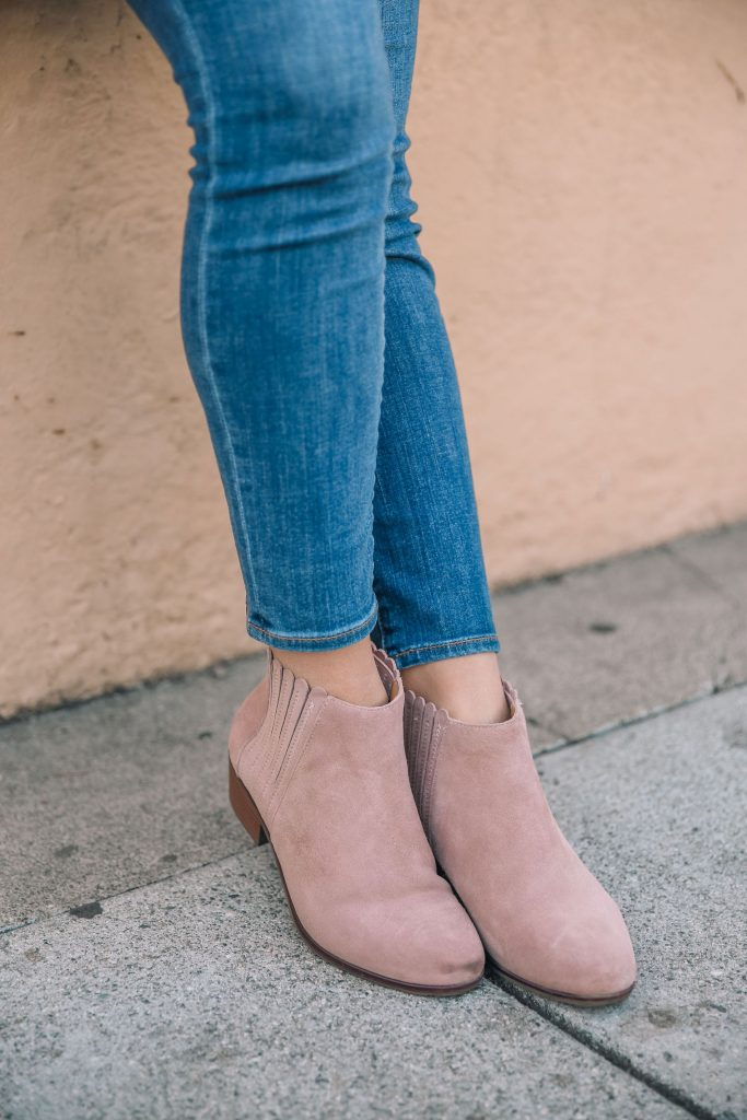 Jack Rogers waterproof suede booties