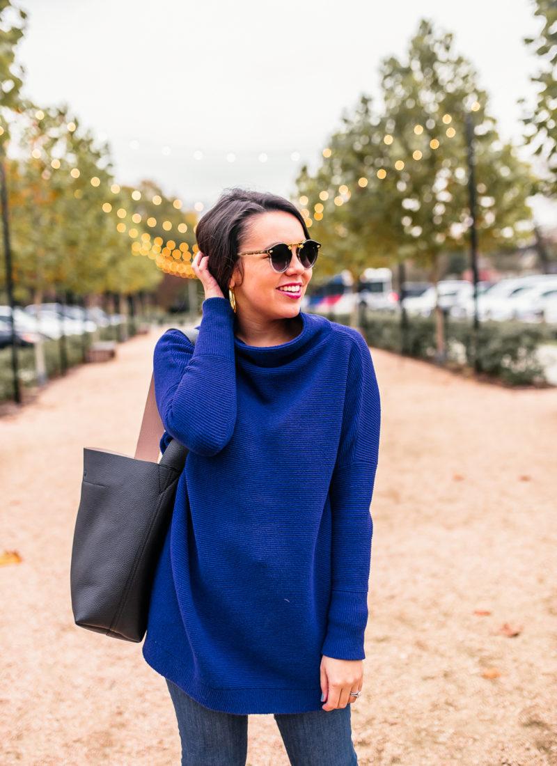 Slouchy Tunic Sweater