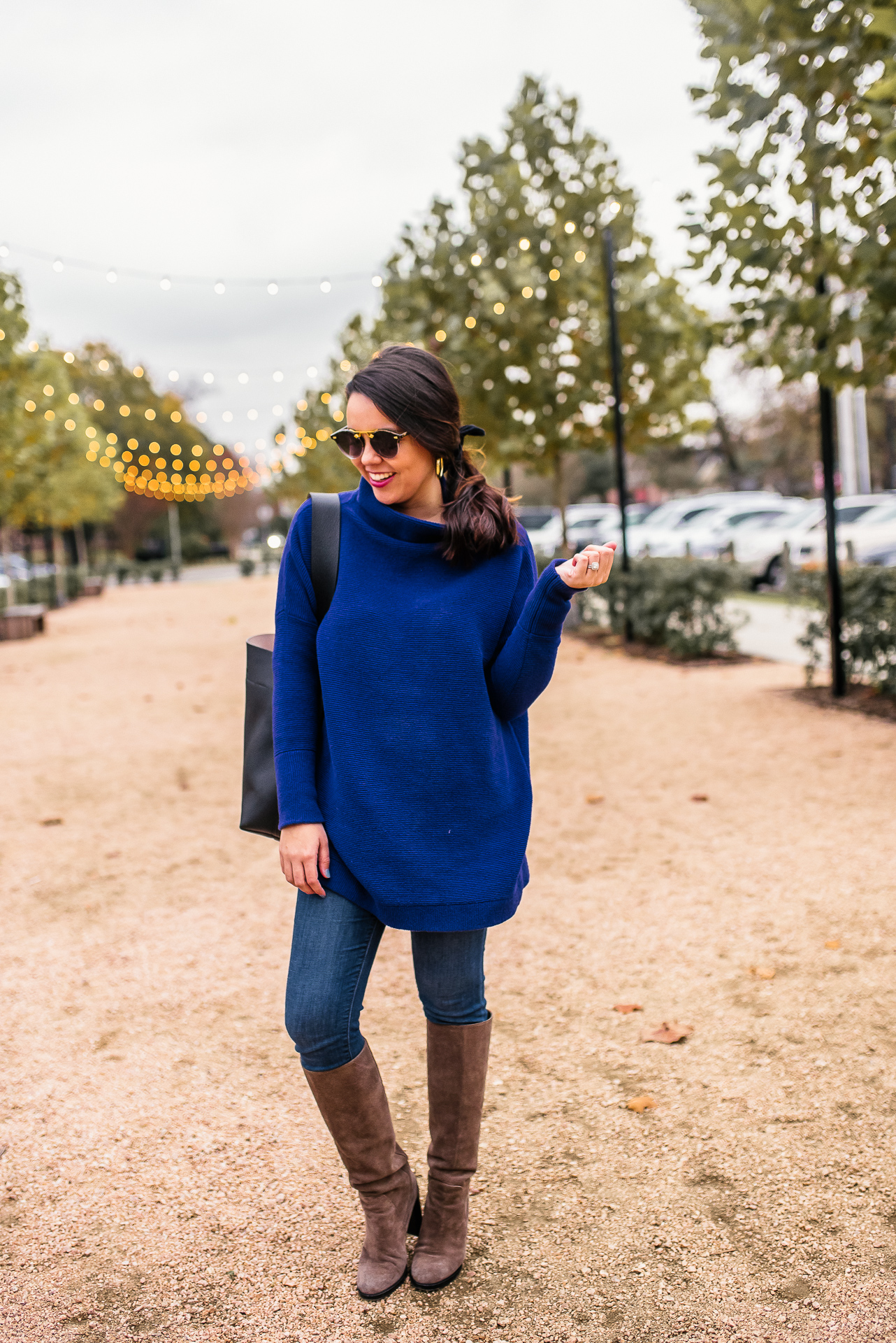 Free People slouchy sweater for winter