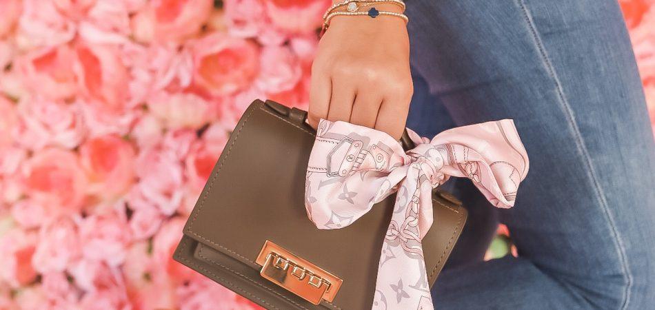 Louis Vuitton silk scarf, vintage scarf | Adored by Alex