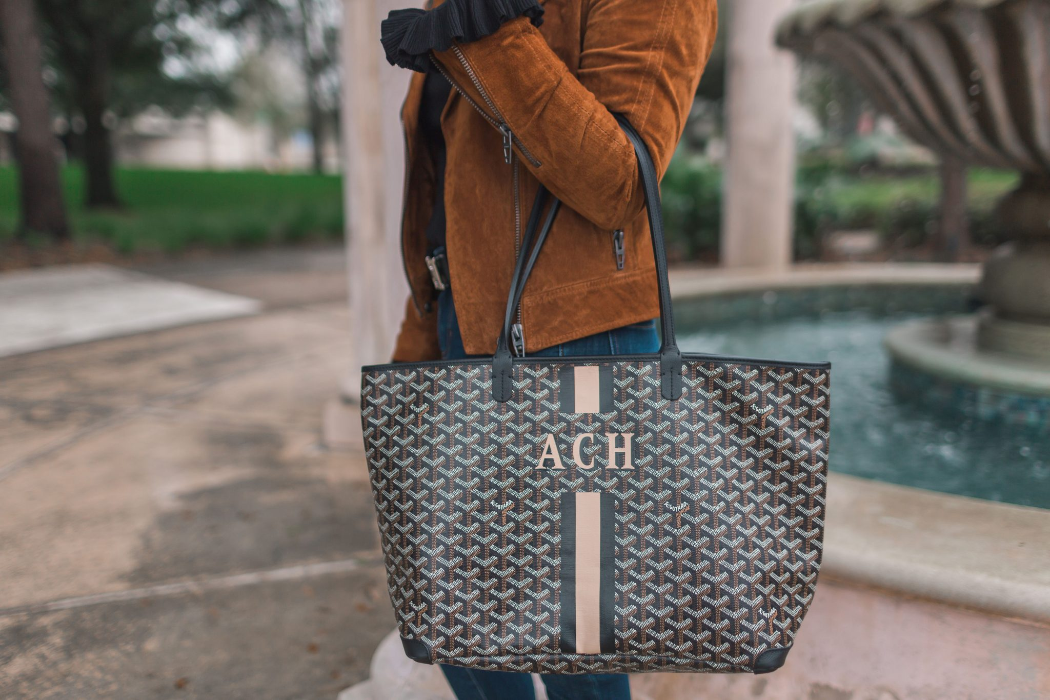 Goyard Artois weekender tote | Adored by Alex