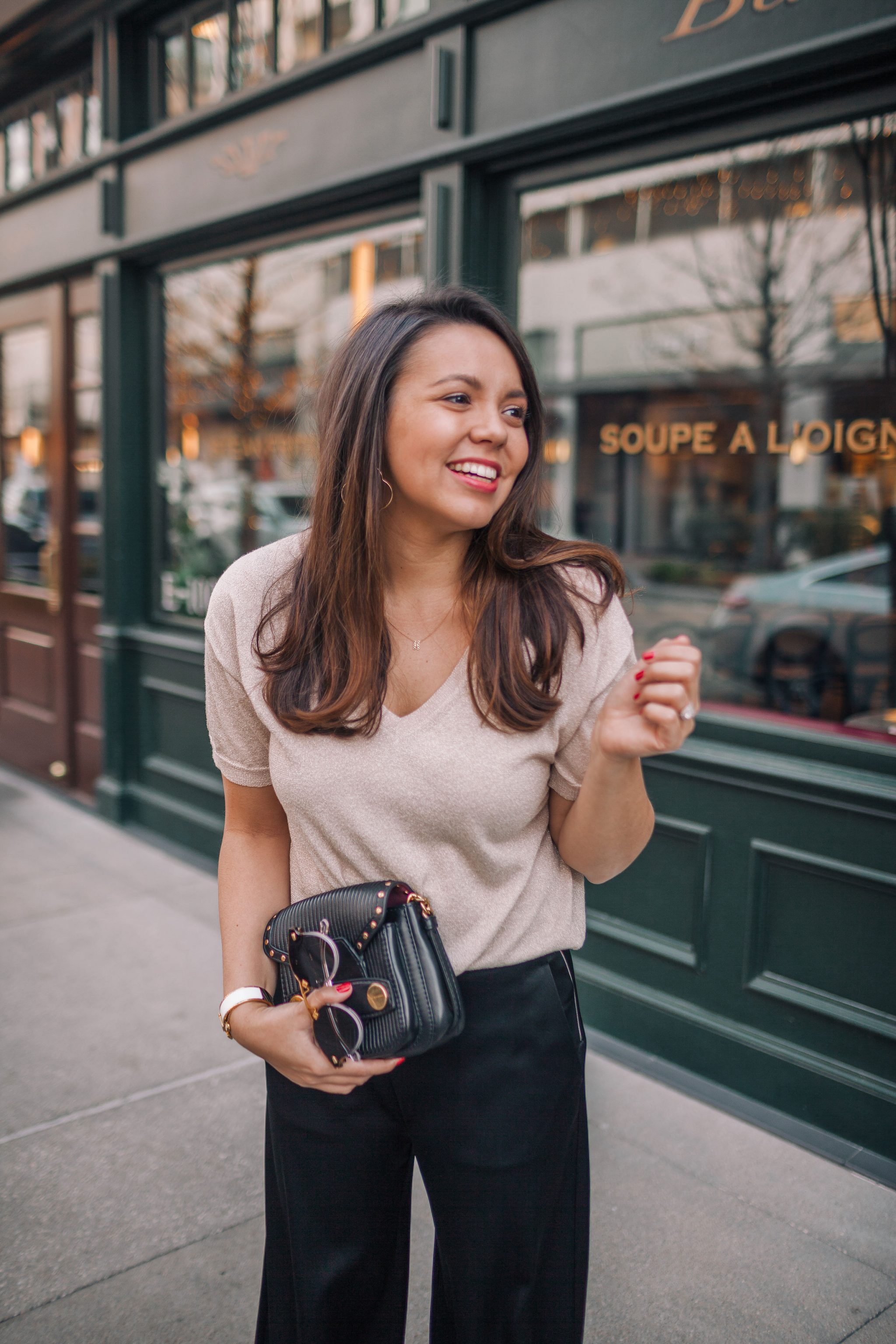 Valentine's Day date night outfit idea | Adored by Alex