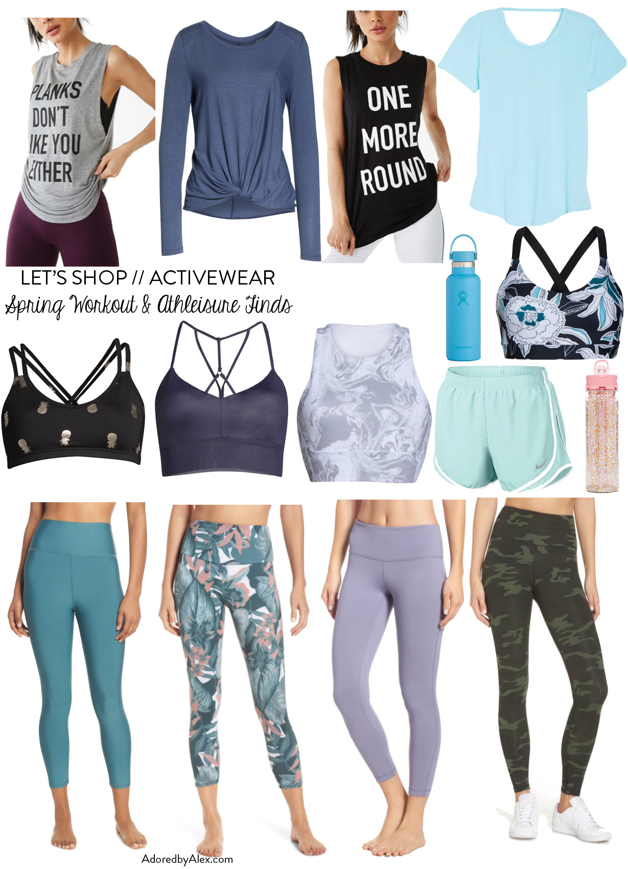 Springtime workout gear refresh | Adored by Alex