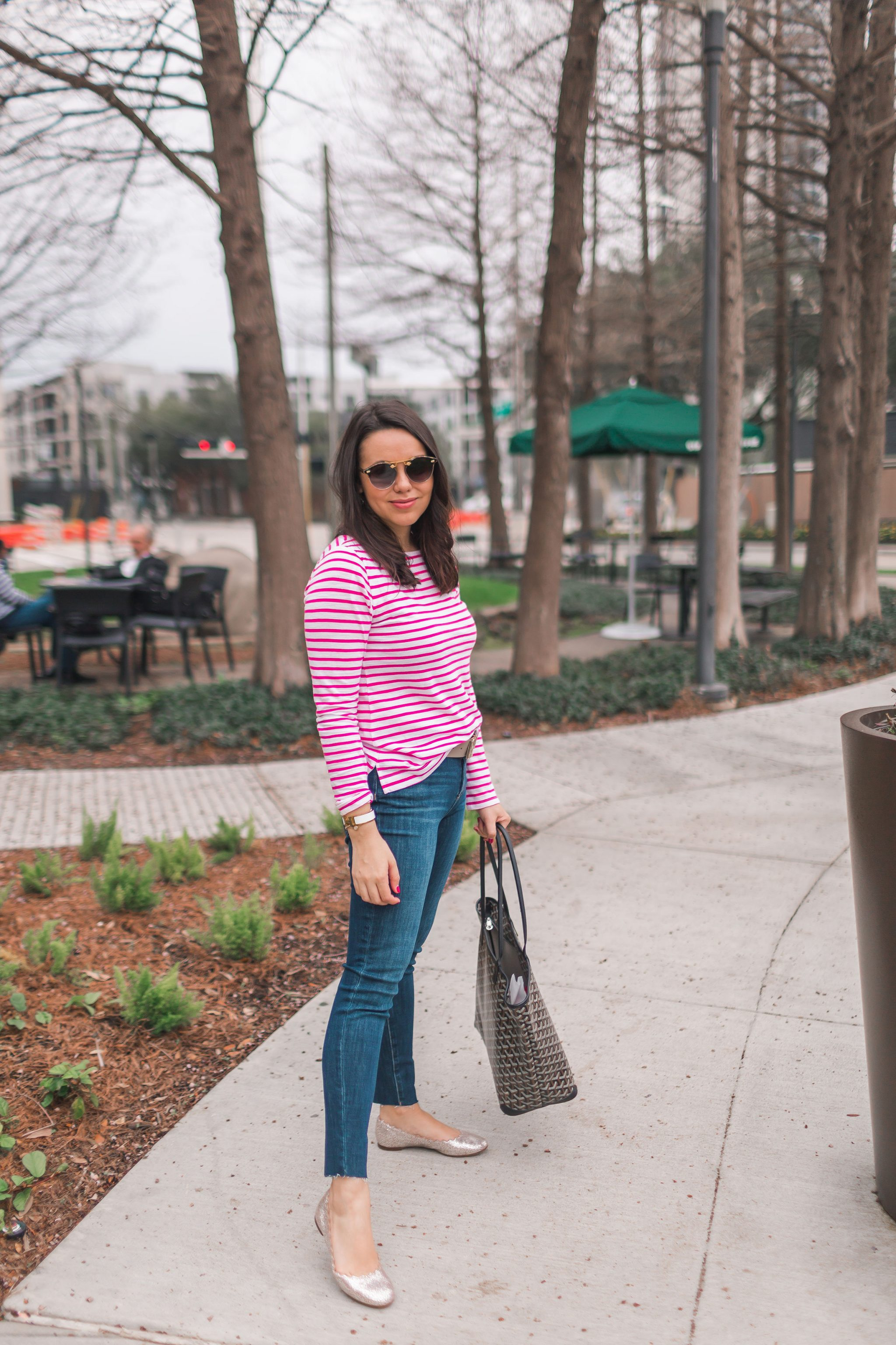 budget-friendly preppy striped t-shirts