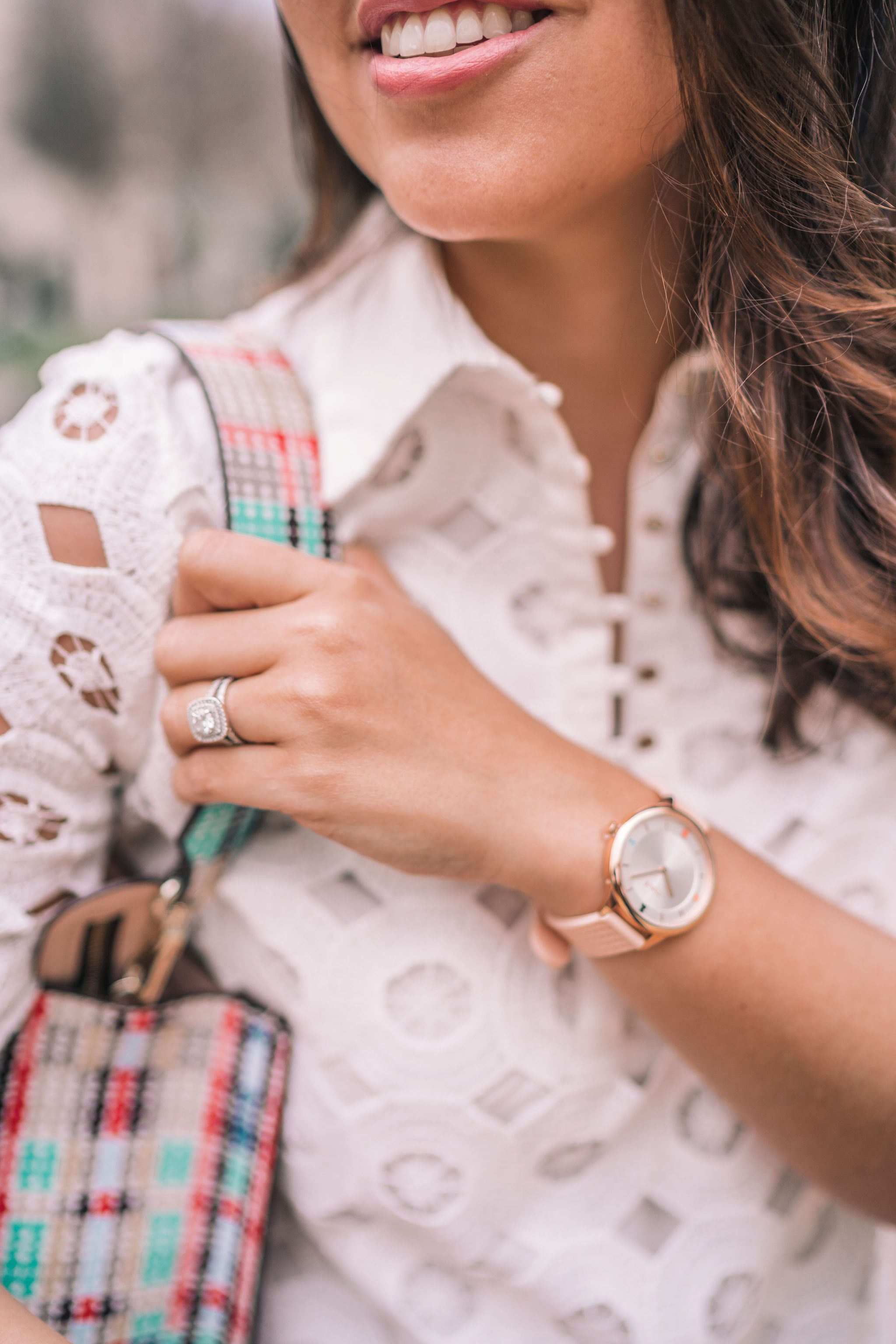 Tous watch, tartan bears handbag