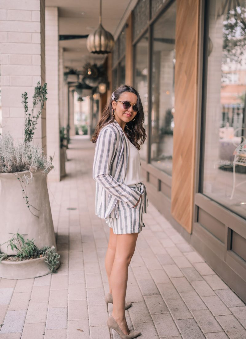 The Striped Shortsuit You Need