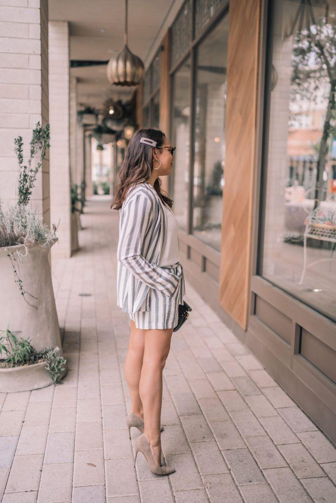 Pearl barrette hair clip trend | Adored by Alex