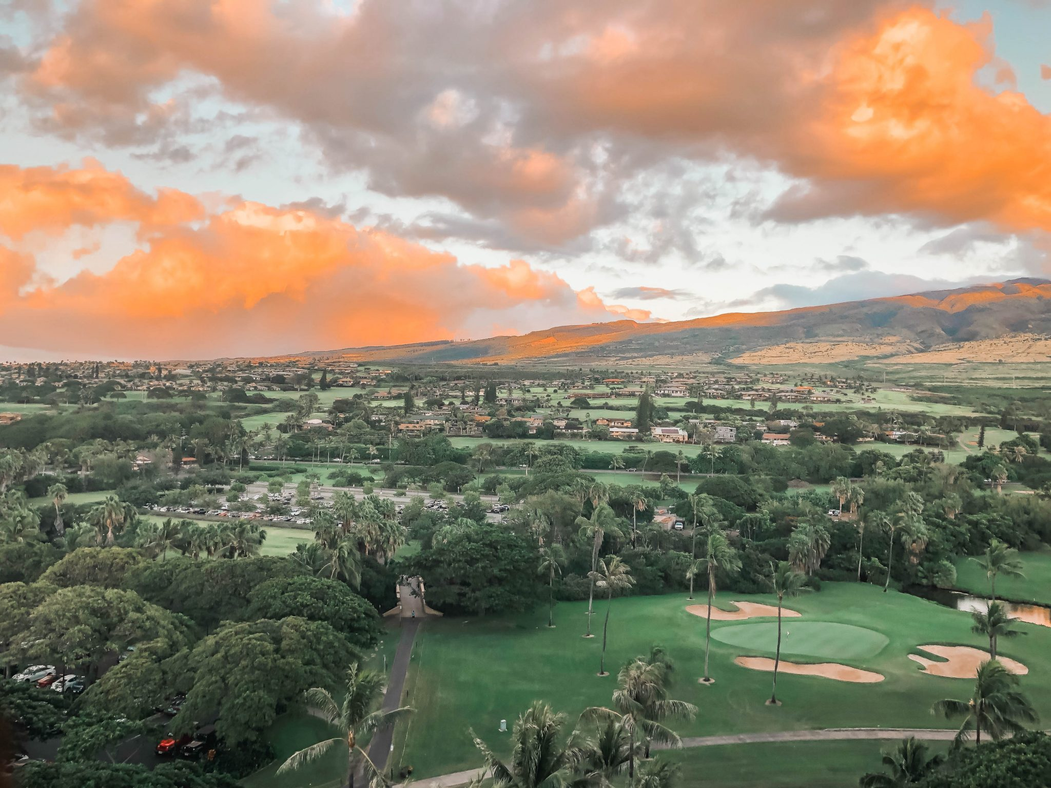 Maui to do, local golf courses