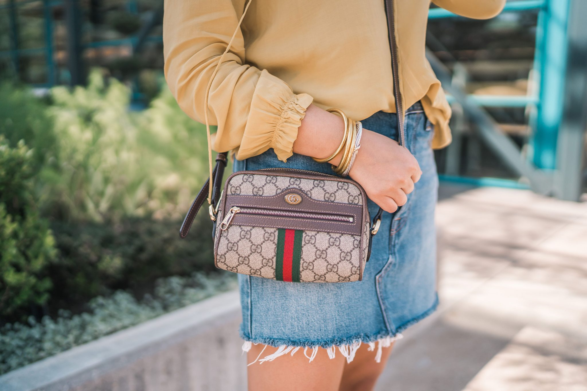 Gucci Ophidia small GG crossbody bag | Adored by Alex
