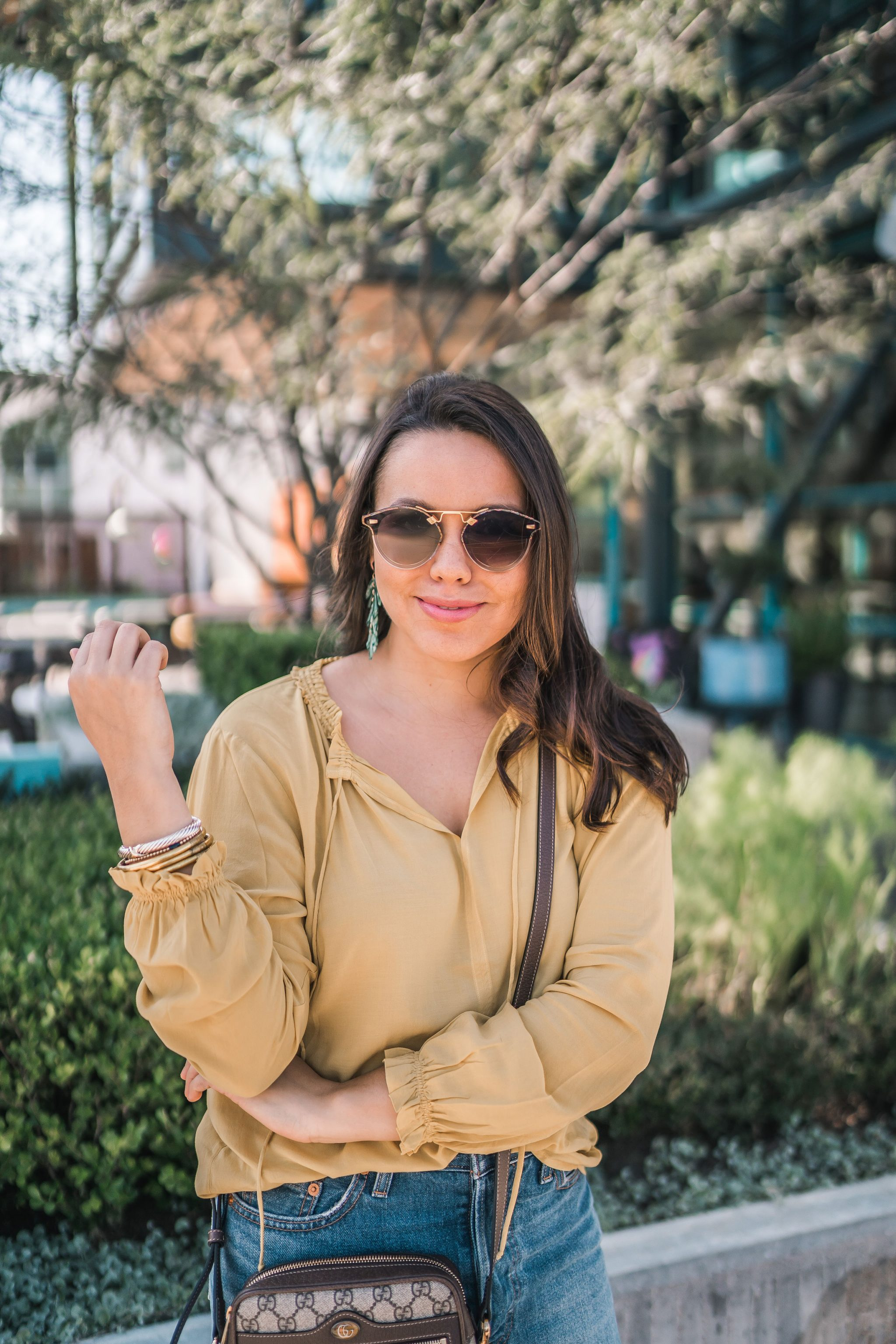 Krewe sunglasses, Yurman bracelets | Adored by Alex