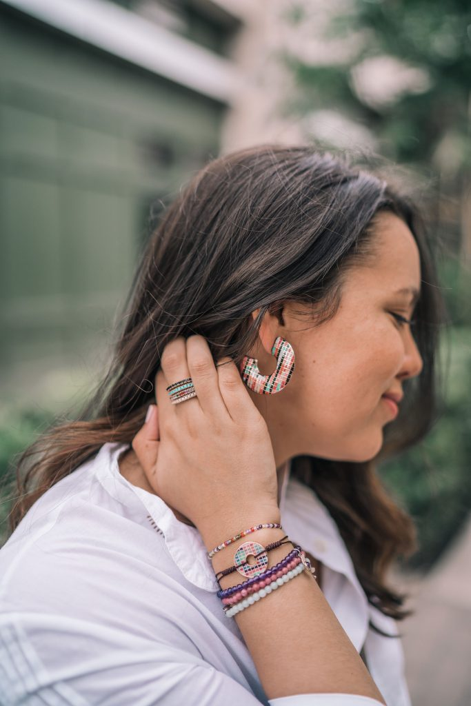Tous earrings and bracelets | Adored by Alex