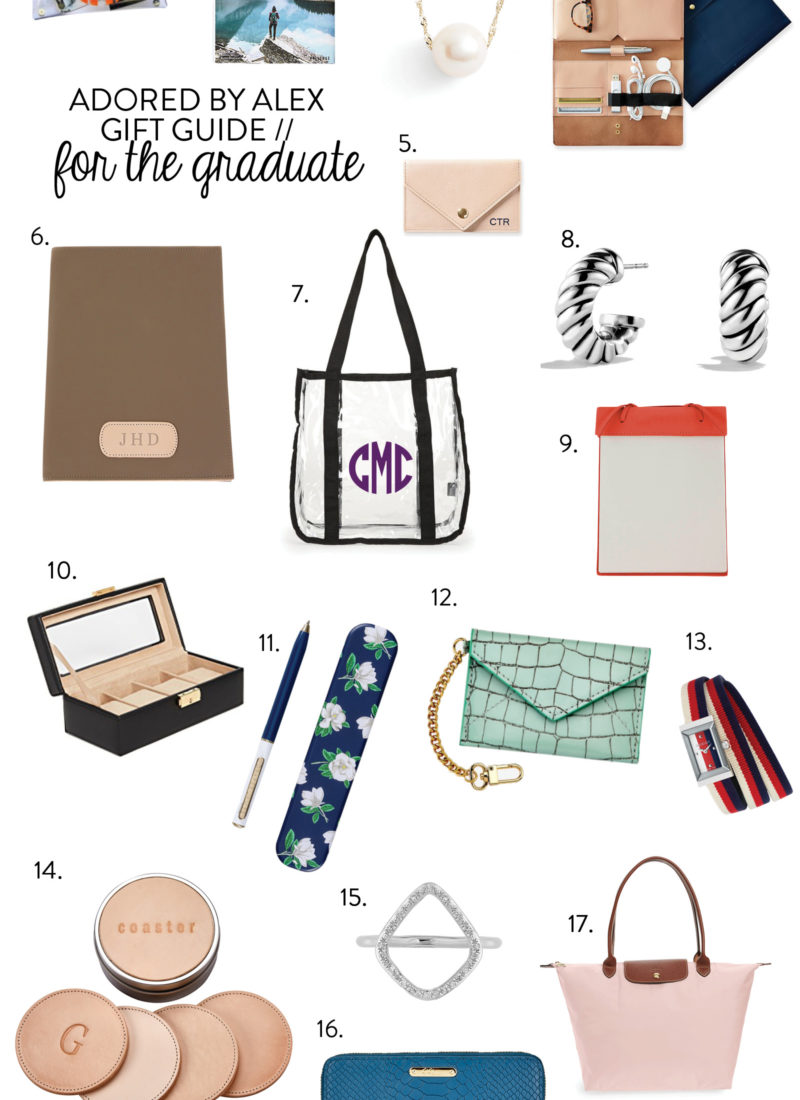 Gift Guide // 17 Gift Ideas for the Graduate
