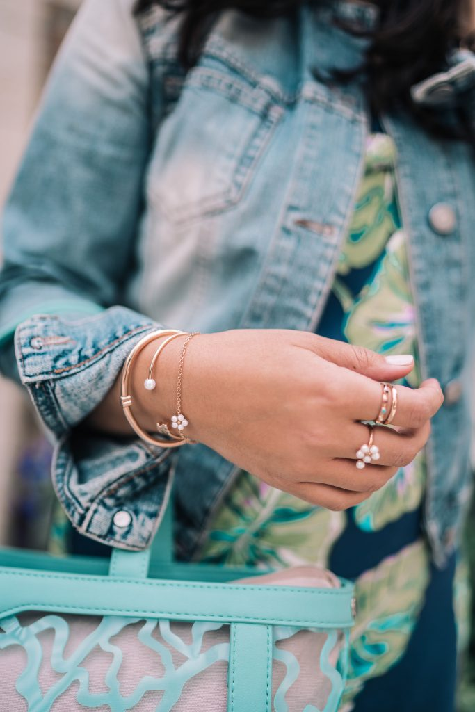 Tous rose gold jewelry and accessories