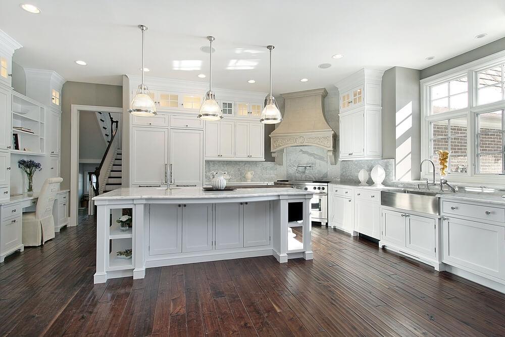 White Kitchen Large Island 32 Luxury Kitchen Island Ideas