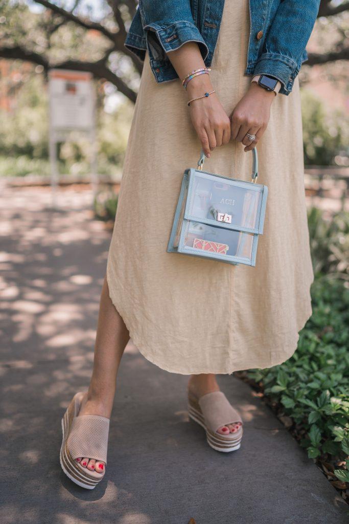 Neely & Chloe mini lady PVC bag | Adored by Alex