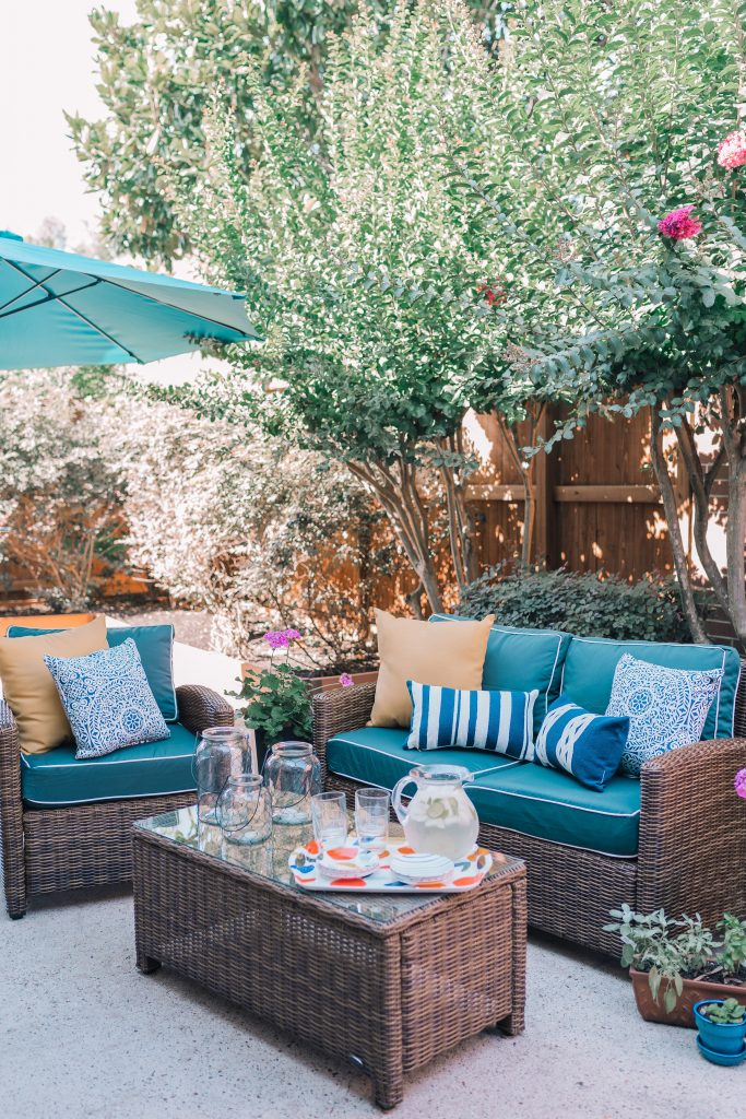 Patio Refresh Fit for Summer Entertaining with Bed Bath & Beyond