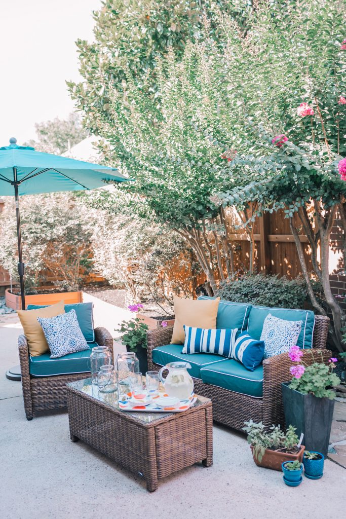 Patio refresh fit for summer entertaining | Adored by Alex