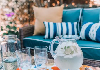 Kate Spade outdoor entertaining set | Adored by Alex