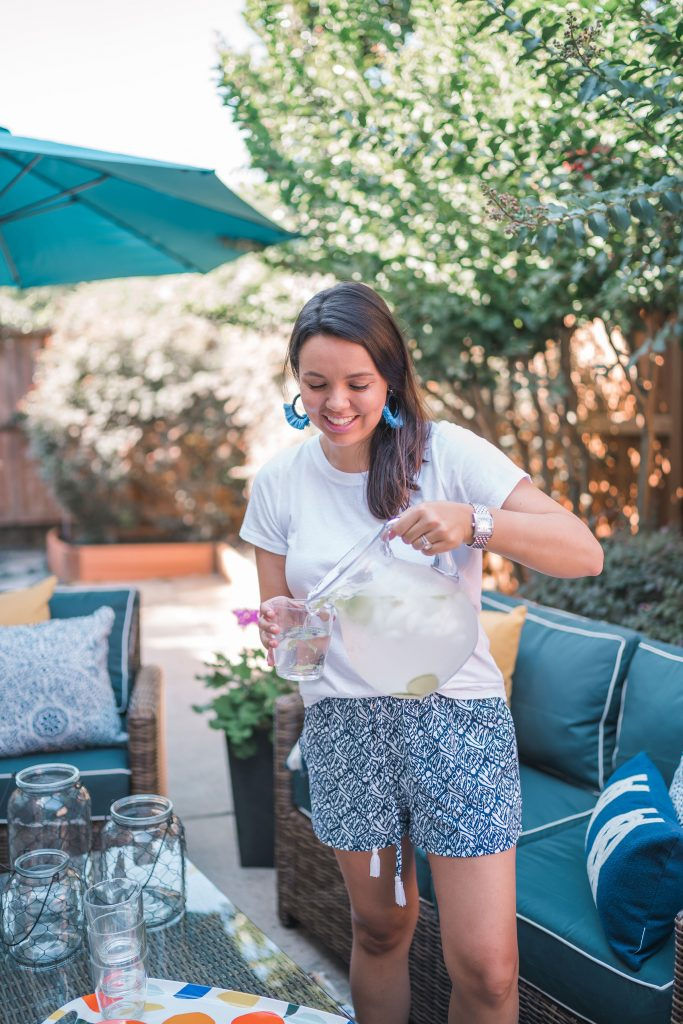 Summer outdoor entertaining at home ideas | Adored by Alex