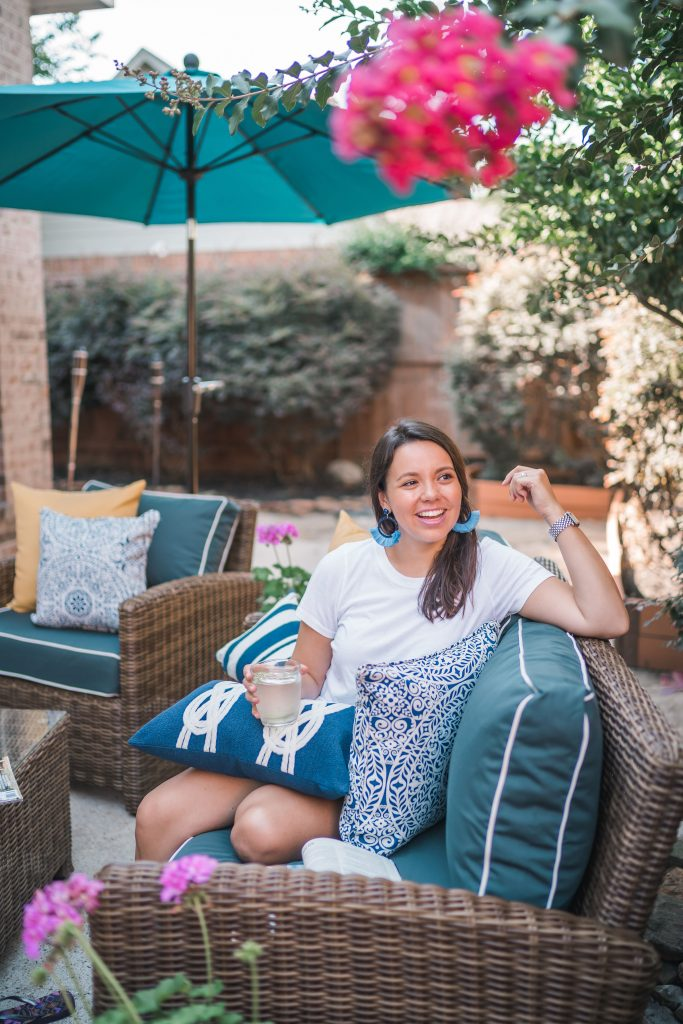 Patio Refresh Fit for Summer Entertaining with Bed Bath & Beyond | Adored by Alex