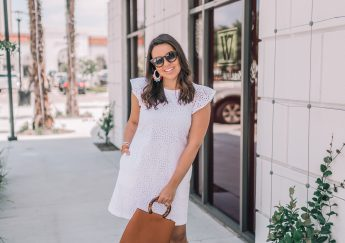 The white eyelet dress you need for summer