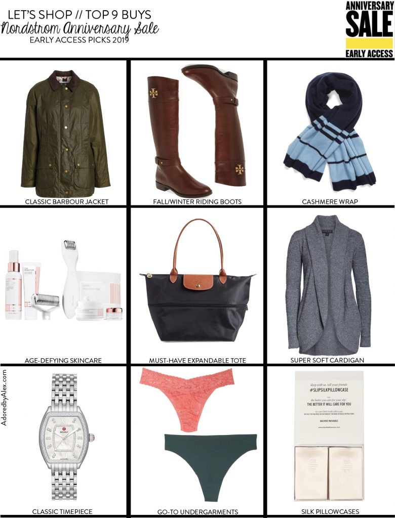 Top 9 Buys at the Nordstrom Anniversary Sale 2019