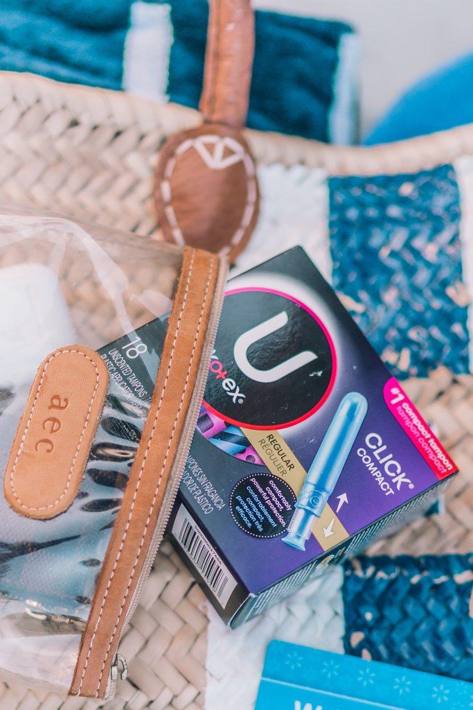 U by Kotex discreet and pocket-friendly tampons