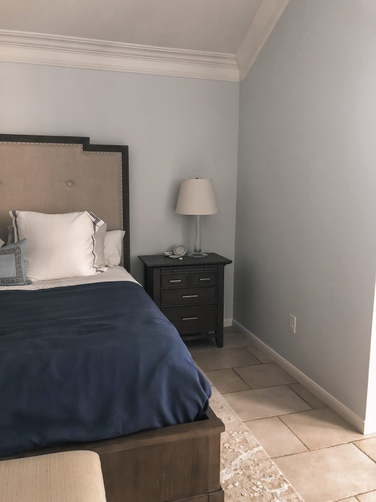 Master bedroom refresh on a budget, before shots