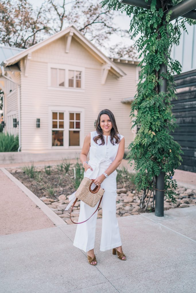 The white cotton jumpsuit you need in your life