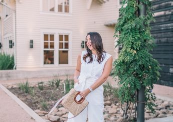 Elevated style in Pearl by Lela Rose jumpsuit | Adored by Alex