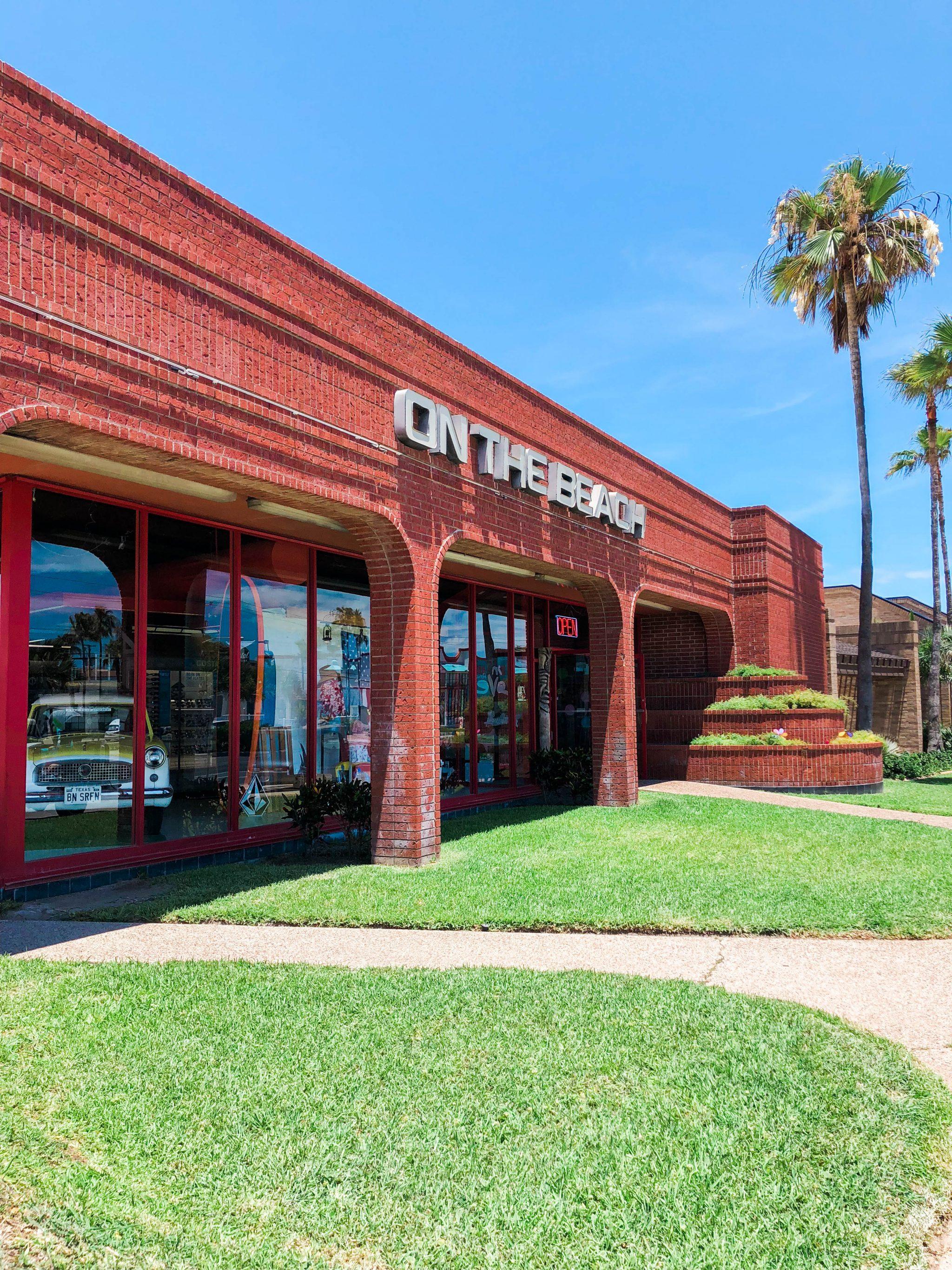 South Padre Island beach shops