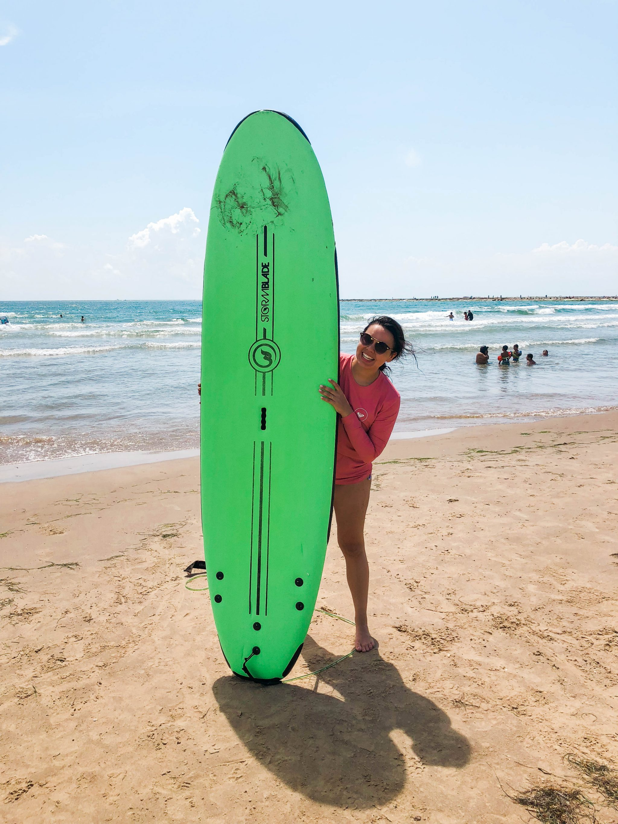 South Padre Island surfing for beginners