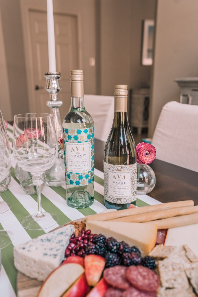 AVA Grace vineyards wine pairings