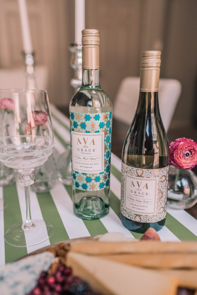Entertaining with AVA Grace vineyards wine
