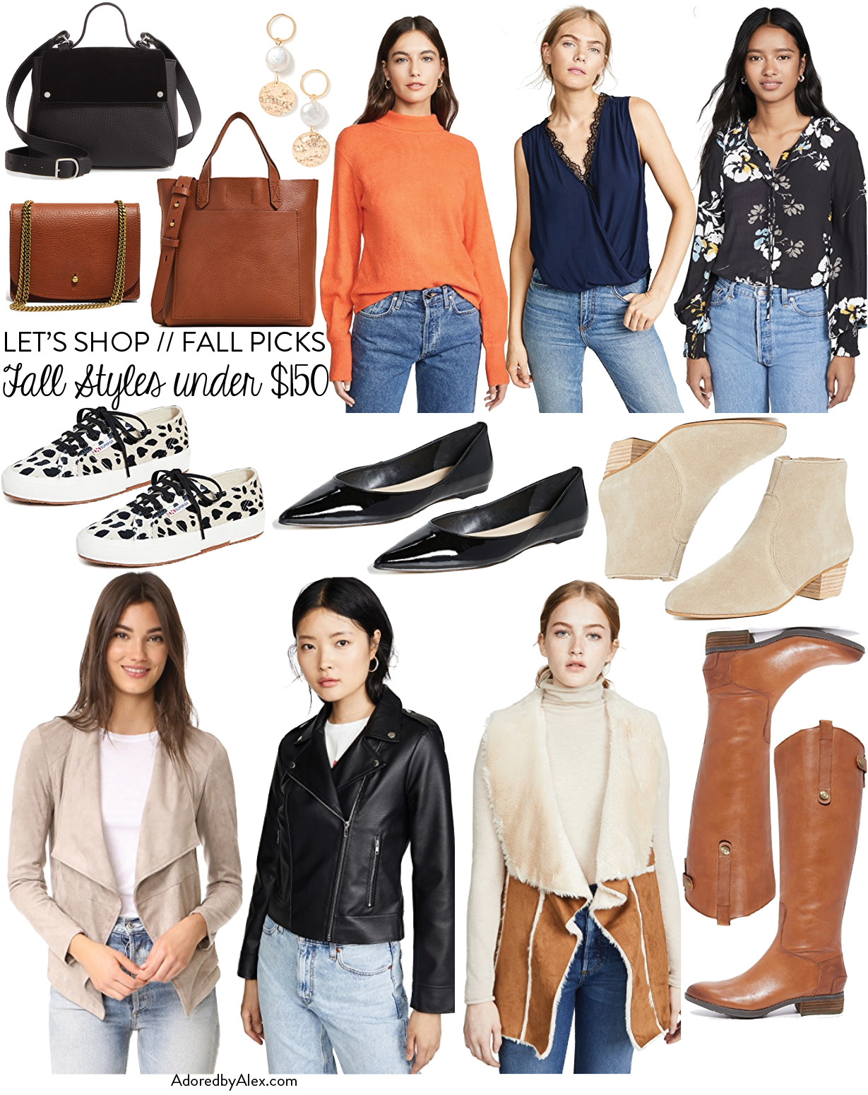 Fall style picks under $150 | Adored by Alex