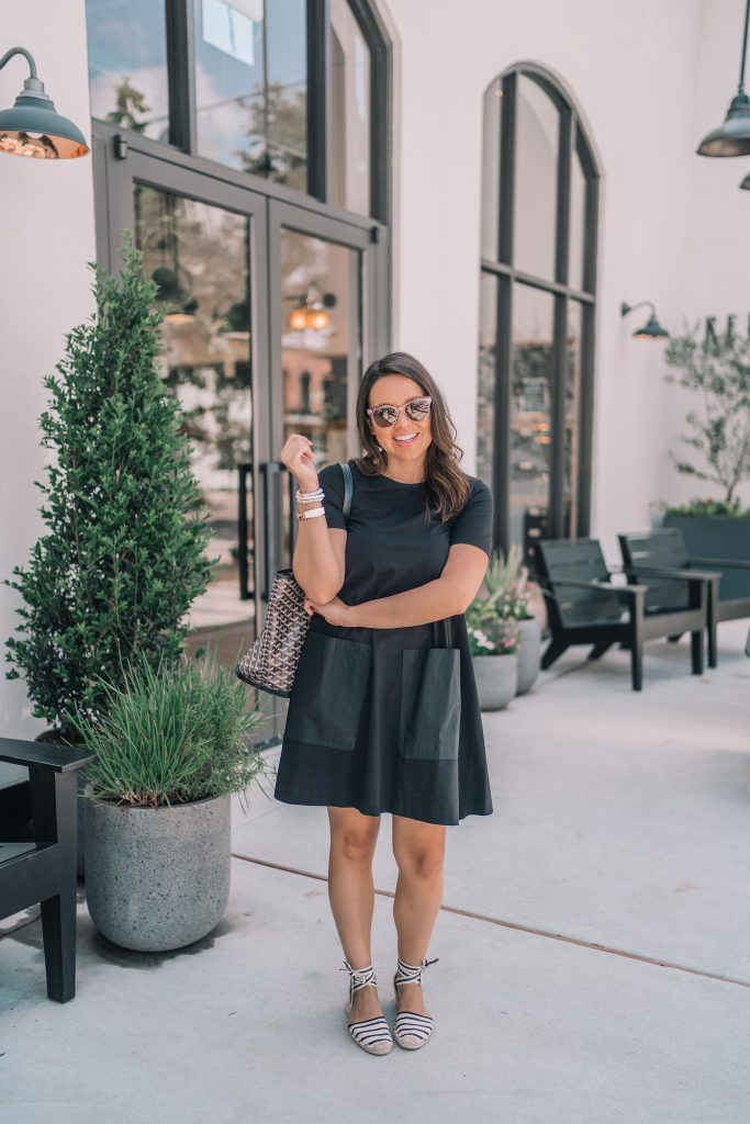 Cos Stores jersey pocket dress, under $100 outfit ideas