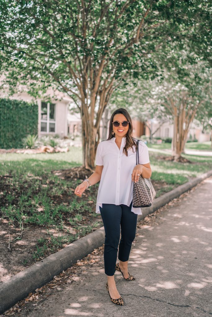 Classic workwear outfit ideas | Adored by Alex