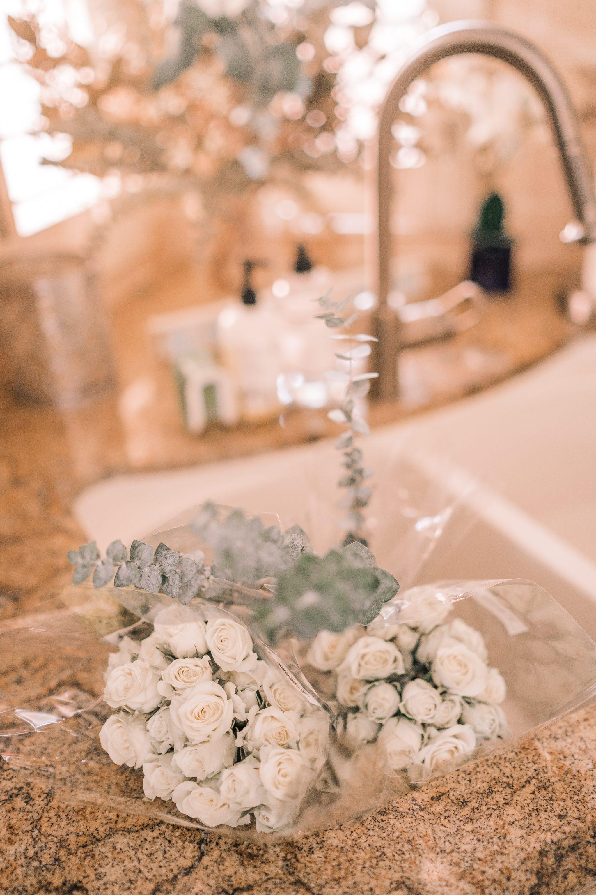 DIY Trader Joe's flower arrangements
