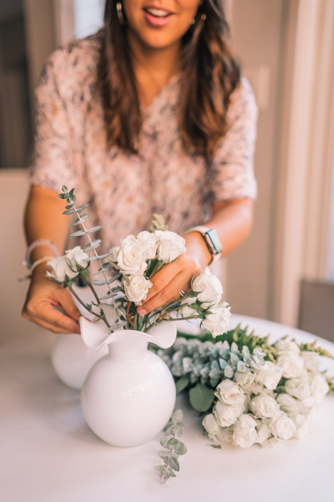 5 minute simple flower arrangements at home
