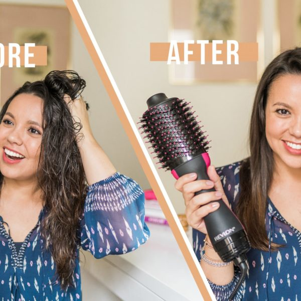 My 7-minute Salon Quality blowout with Revlon One-Step Hair Dryer