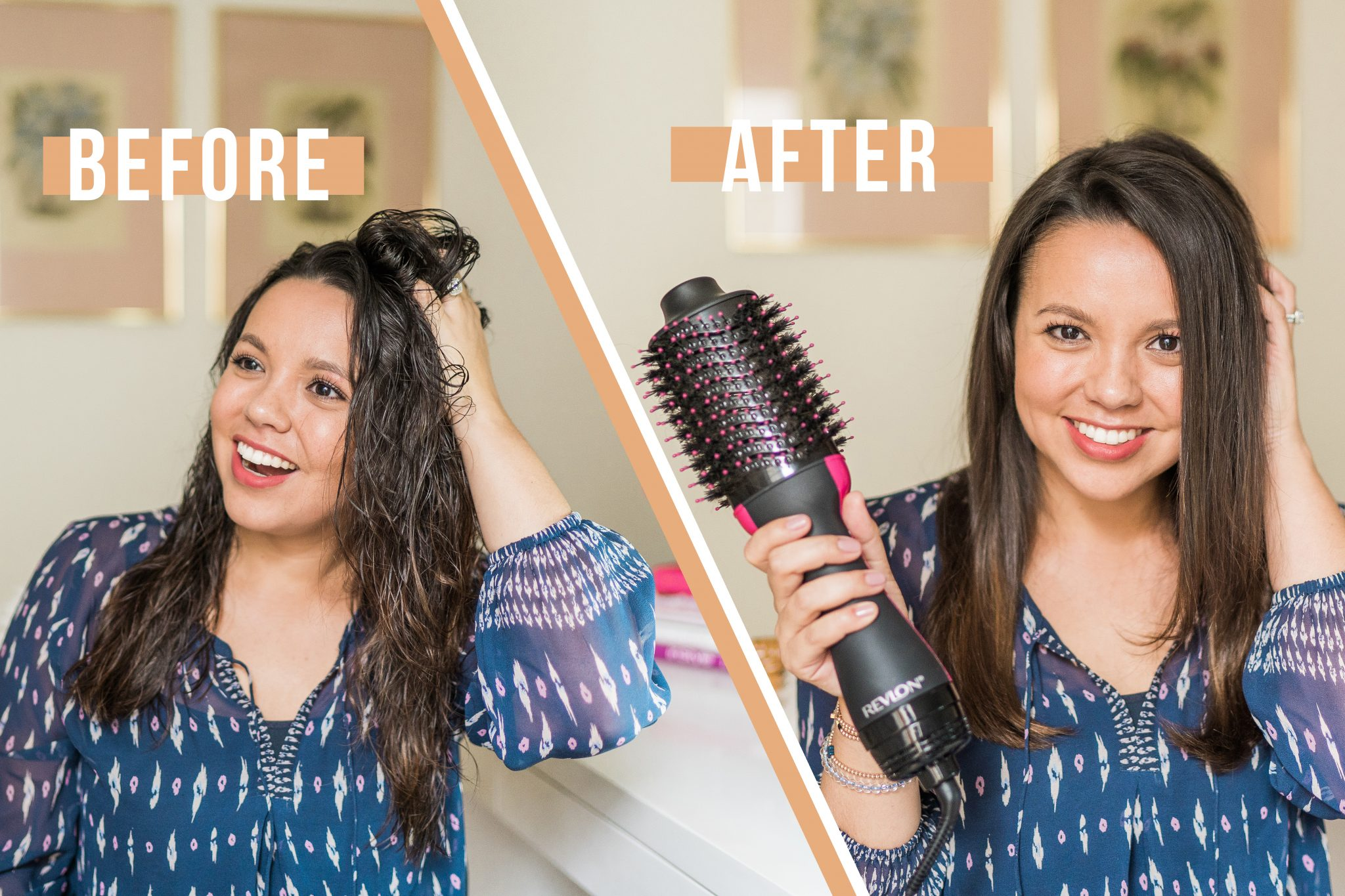 Salon Quality blowout with Revlon One-Step Hairdryer | Adored by Alex