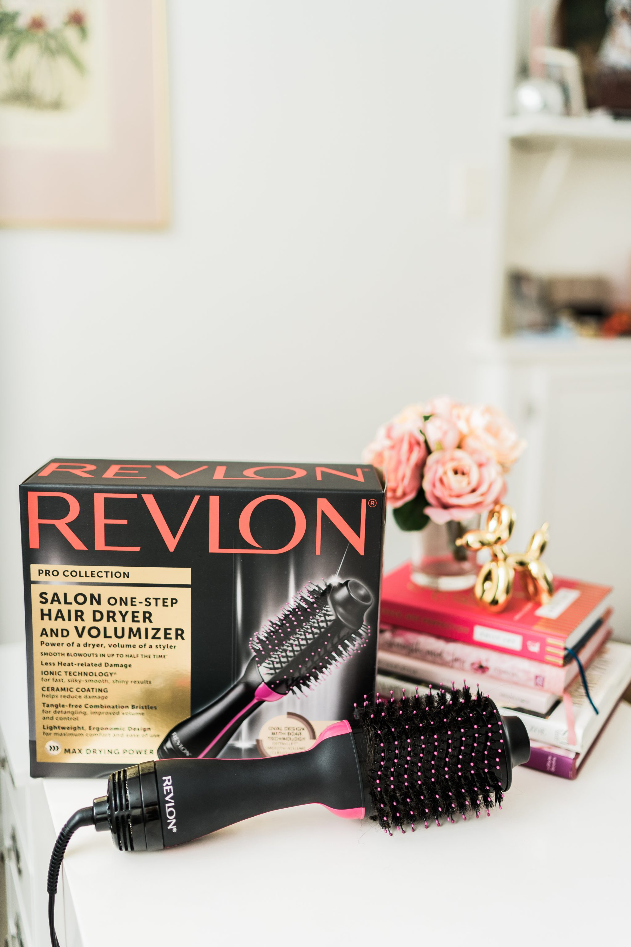 Salon Quality blowout with Revlon One-Step Hairdryer